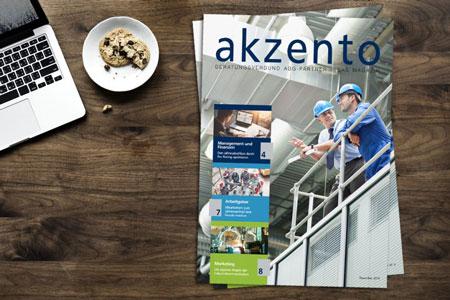Neue Ausgabe des Mittelstandsmagazins akzento erschienen!